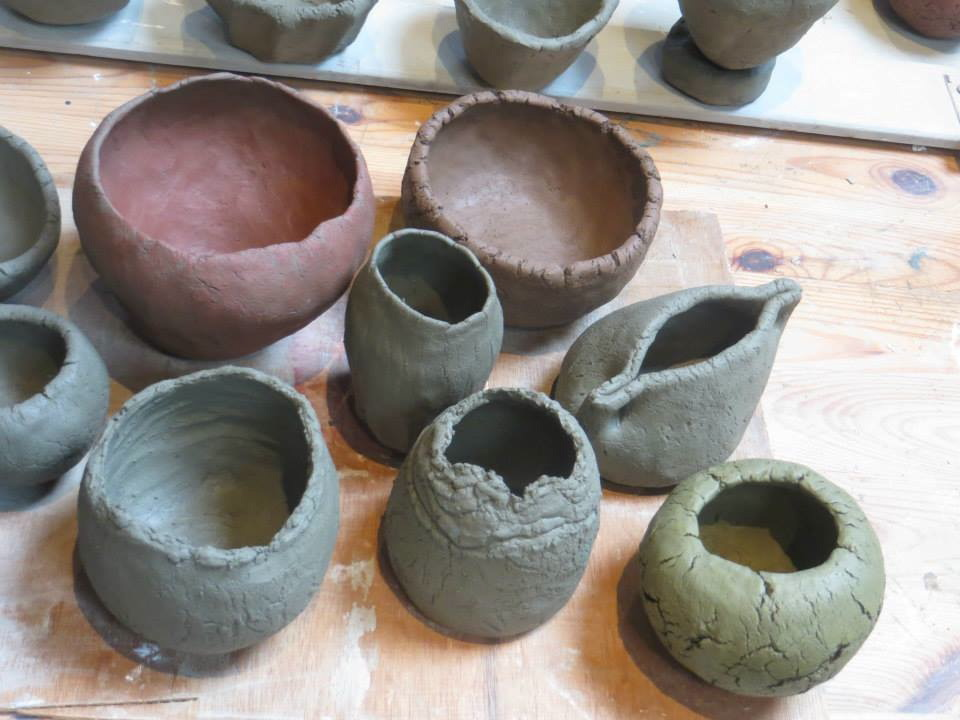 Natural Creative Pottery Firing With Linda Styles Art